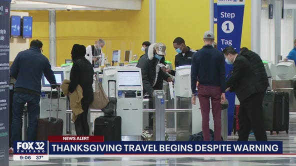 Millions stick to Thanksgiving travel plans despite warnings