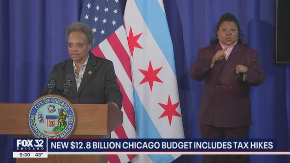 New billion-dollar Chicago budget includes tax hikes