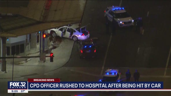 2 in custody after Chicago cop dragged by vehicle near Red Line station