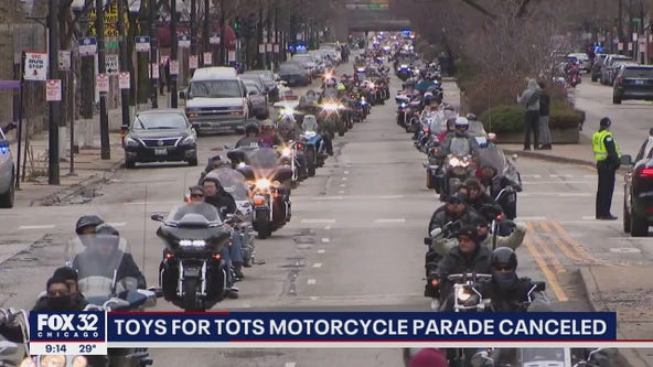 Chicagoland Toys for Tots asks for donations after annual motorcycle parade canceled