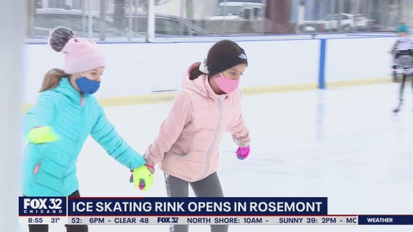 Rosemont ice rink opens, Millennium Park rink remains closed for the season