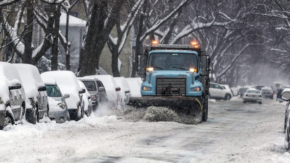 Major snow could hit Chicago Monday