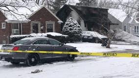 2 children die in Christmas morning fire on Detroit's east side