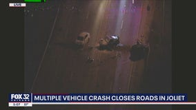 Wrong-way driver crashes into funeral procession in Joliet, injuring 3