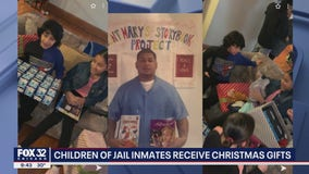 Children of Cook County inmates receive Christmas gifts