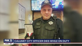 Calumet City police officer dies of medical emergency on duty