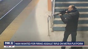 Man wanted for shooting rifle on Metra platform at McCormick Place: FBI