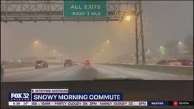 Chicago crews work to keep roads safe after winter storm