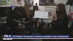 Interest in music spikes amid pandemic
