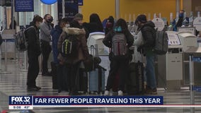 Although far fewer, Illinoisans still traveling for holidays despite CDC warnings