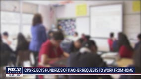 CPS rejects hundreds of teachers' requests to work from home