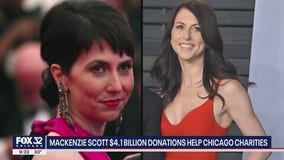 MacKenzie Scott donated billions of dollars to charities across the nation, including agencies in Chicago