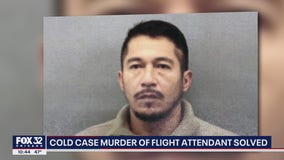 Man accused of 1999 stabbing death of flight attendant in suburban Chicago faces murder charges