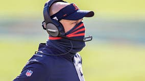 Nagy says he'll go back to calling Bears' offensive plays