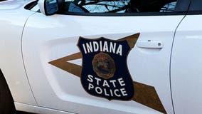 Indiana State trooper struck while investigating crash