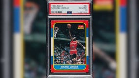 Jordan rookie card sells for $150G at latest auction