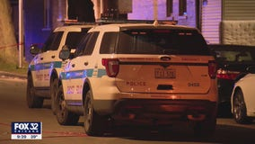 2 people hurt, 1 critically, after being shot while sitting in a parked car in Brighton Park