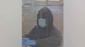 FBI searching for man who robbed Northbrook bank