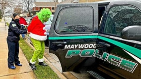 Maywood police arrest Grinch, stop him from stealing Christmas