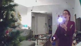Woman hears rustling in Christmas tree, finds raccoon inside
