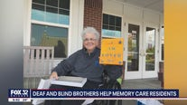 Partially deaf, blind brothers team up to give beautiful gifts to memory care patients in Oak Lawn