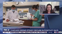 Chicago sees encouraging decline in COVID-19 positivity rate