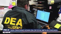 'Operation Crystal Shield': DEA sees record number of meth seizures in Chicago