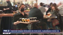 Chicago moves to Tier 1 mitigation measures, indoor dining can resume
