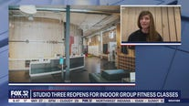 Studio Three reopens for indoor group fitness classes