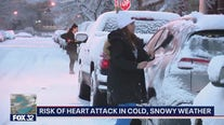 Cold, snowy weather boosts risk of suffering heart attacks