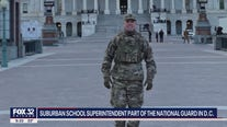 Illinois school superintendent part of National Guard in DC