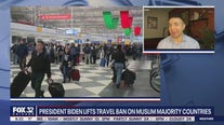 President Biden lifts travel ban on Muslim majority countries