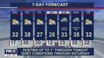 10 p.m. forecast for Chicagoland on Jan. 19