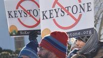 Keystone XL oil pipeline construction stops as Biden moves to revoke permit
