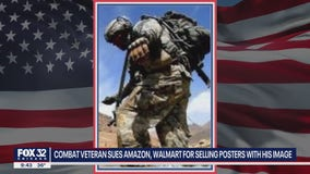 Niles Army veteran suing Walmart, Amazon for using his image without consent