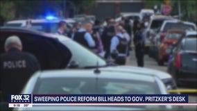 Illinois state lawmakers pass controversial police reform bill