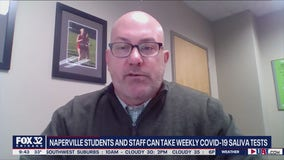 Naperville students, staff to be given optional weekly COVID-19 saliva tests