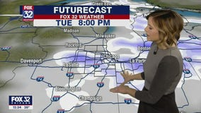 Afternoon forecast for Chicagoland on Jan. 19th