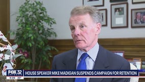 House Speaker Mike Madigan 'suspends' campaign for retention