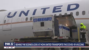 Inside Look: United, O'Hare play pivotal role in distributing coronavirus vaccine