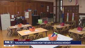 Safety concerns prompt some Chicago teachers to refuse to return to schools