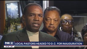 Local activist Rev. Acree traveling to DC for inauguration: 'What would Dr. King do?'