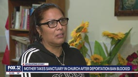Mother takes sanctuary at Chicago church after federal judge blocks deportation ban