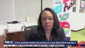 CPS CEO Janice Jackson on teachers refusing to return to schools