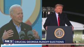 Georgia tallies votes as US Senate control hangs in the balance