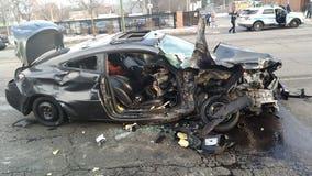 3 hurt in high-speed Gresham crash