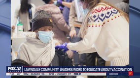 Lawndale community leaders encouraging residents to get vaccinated