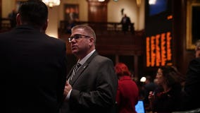 GOP State Rep. Darren Bailey collapses during Illinois General Assembly session Sunday