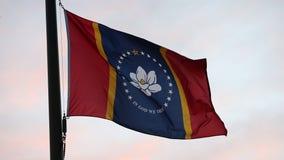 Mississippi raises new flag over state capitol