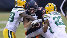Green Bay Packers beat Chicago Bears 35-16, but the Bears are still going to the playoffs